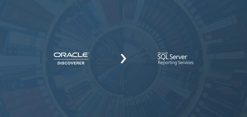 Migrating from Oracle Discoverer to Microsoft SSRS